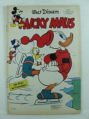 Micky Maus. Heft 1 1960.: Disney, Walt: