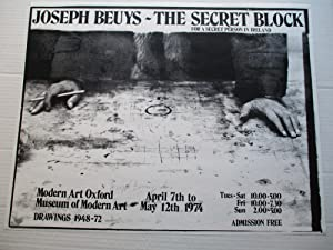 Joseph Beuys The Secret Block for a Secret Person in Ireland (signed by artist)