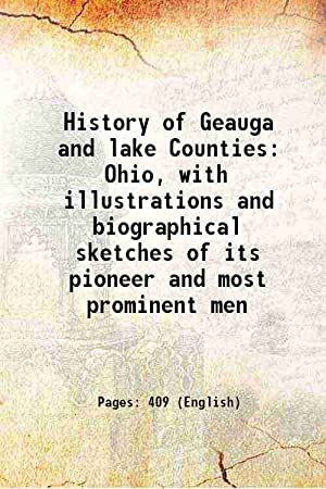 History of Geauga and lake Counties Ohio,: Anonymous