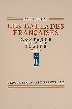 Les Ballades Francaises: SCHMIED, Francois-Louis, illustrator;