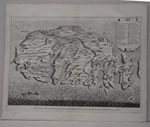 THE ANCIENT PLAN OF THE ISLAND OF MALTA WHERE ST. PAUL CAME ON SHORE AFTER HIS SHIPWRECK