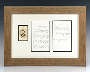Ulysses S. Grant Autograph Letter Signed.: Grant, Ulysses S