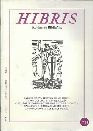 Hibris Revista de Bibliofilia Nº 11 septiembre-octubre: Misèria & Cia