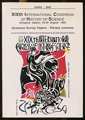 XIXth International Congress of History of Science,: Dhombres, Jean -
