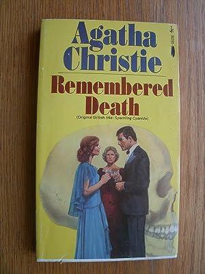 Remembered Death aka Sparkling Cyanide # 80295: Christie, Agatha