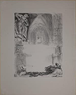 """Illustration aus """"Faust II"""": In Faustens Gewölbe: Slevogt, Max (1868-1932):"""