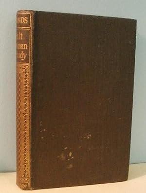 Walt Whitman: A Study: John Addington Symonds