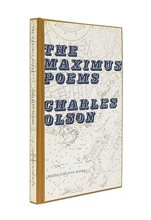 Immagine del venditore per The Maximus Poems venduto da James Cummins Bookseller, ABAA