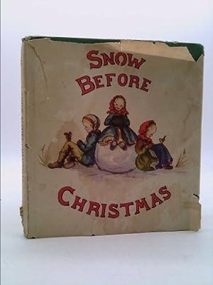 Snow before Christmas,: Tudor, Tasha