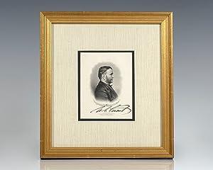 Ulysses S. Grant Signed Engraving.: Grant, Ulysses S.