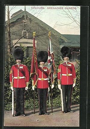 Grenadier Guards No 11 company colours standard flag
