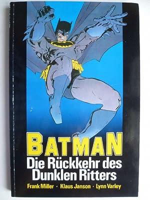 Batman. Die Rückkehr des dunklein Ritters.: Miller, Frank; Klaus