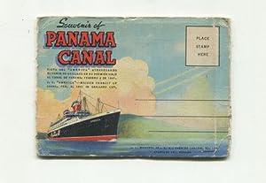 Souvenir of Panama Canal. 18 Bilder Leporello.: Panama Kanal: