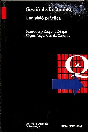 GESTIÓ DE LA QUALITAT (CATALÁN).: ROTGER I ESTAPÉ,