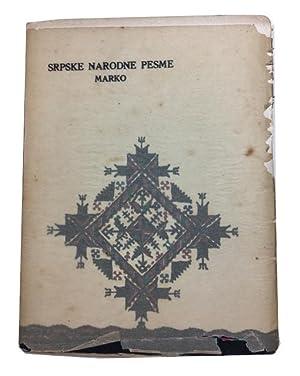 Srpske Narodne Pesme. [Volume 3 or 4]: Popovic, Laza