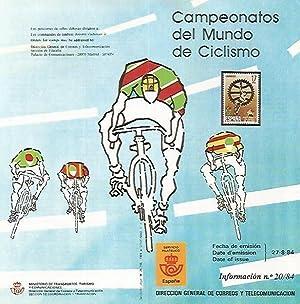 Imagen del vendedor de DIPTICO 16455: Campeonatos del Mundo de Ciclismo a la venta por EL BOLETIN
