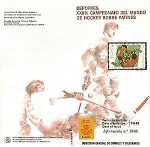 DIPTICO 16388: XXVIII Campeonato del mundo de: Varios
