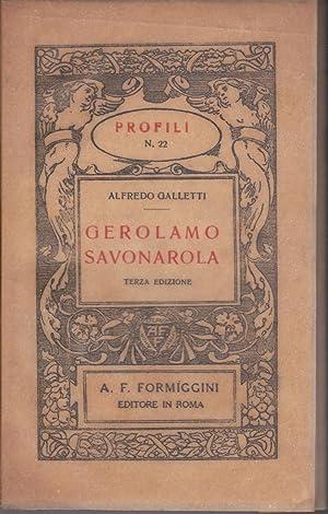 Immagine del venditore per Gerolamo Savonarola venduto da Libreria Tara