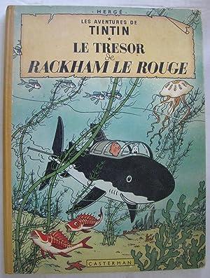 Les Adventures de Tintin Le Tresor de: Herge