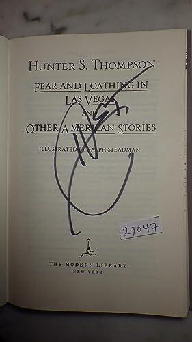 FEAR & LOATHING IN LAS VEGAS. A: Hunter S. Thompson,