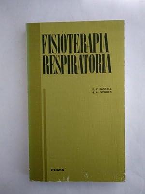 Fisioterapia respiratoria: D. V. Gaskell.