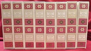 Image du vendeur pour L'Ingénieux Hidalgo Don Quichotte de la Manche. Illustations de Henry Lemarié (8 volumes). mis en vente par Librairie Diogène SARL