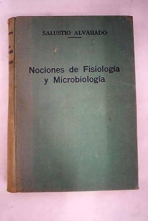 Nociones de fisiología y microbiología: Alvarado, S.
