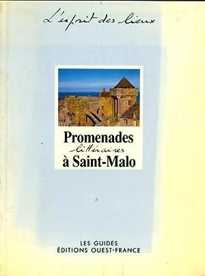 Promenades littéraires à Saint-Malo - Claudine Legardinier: Claudine Legardinier