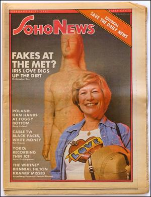 Seller image for SoHo News, Vol. 8, No. 20 (February 11-17, 1981) for sale by Specific Object / David Platzker