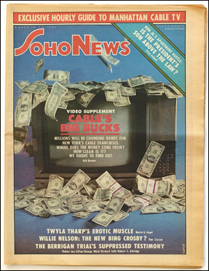 Seller image for SoHo News, Vol. 8, No. 25 (March 18-24, 1981) for sale by Specific Object / David Platzker