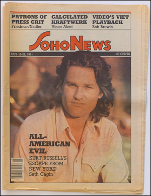 Seller image for SoHo News, Vol. 8, No. 42 (July 15-21, 1981) for sale by Specific Object / David Platzker