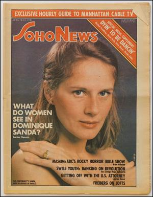 Seller image for SoHo News, Vol. 8, No. 29 (April 15-21, 1981) for sale by Specific Object / David Platzker