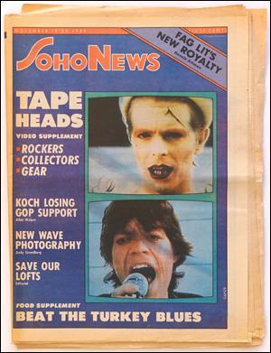 Seller image for SoHo News, Vol. 8, No. 7 (November 19-25, 1980) for sale by Specific Object / David Platzker
