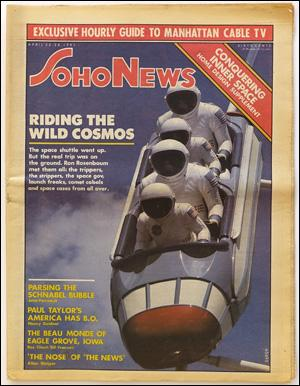 Seller image for SoHo News, Vol. 8, No. 30 (April 22-28, 1981) for sale by Specific Object / David Platzker