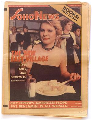 Seller image for SoHo News, Vol. 8, No. 4 (October 22-28, 1980) for sale by Specific Object / David Platzker