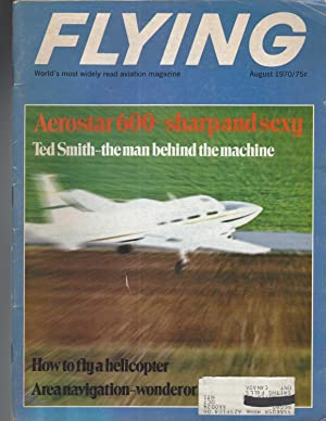 Flying Magazine. August 1970, Volume 86, Number 2