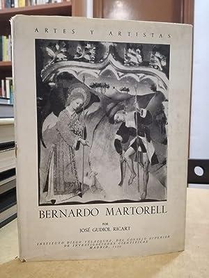 BERNARDO MARTORELL.: GUDIOL RICART, JOSÉ.