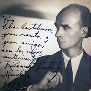 Original Photograph Inscribed: Ricardo Tudela
