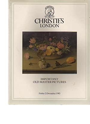 Christies December 1983 Important Old Master Pictures