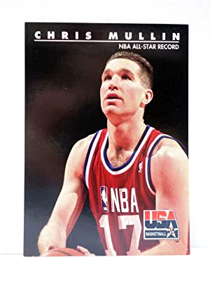 Imagen del vendedor de NBA TRADING CARD USA BASKETBALL 61. CHRIS MULLIN - NBA ALL STAR RECORD. Skybox, 1992 a la venta por Libros Fugitivos