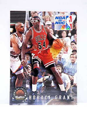Imagen del vendedor de TRADING CARD BASKETBALL NBA ON NBC PREMIUM 19. HORACE GRANT. Topps, 1993 a la venta por Libros Fugitivos