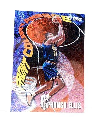 Imagen del vendedor de TRADING CARD BASKETBALL NBA SEASON'S BEST 15. LaPHONSO ELLIS. Topps, 1997 a la venta por Libros Fugitivos