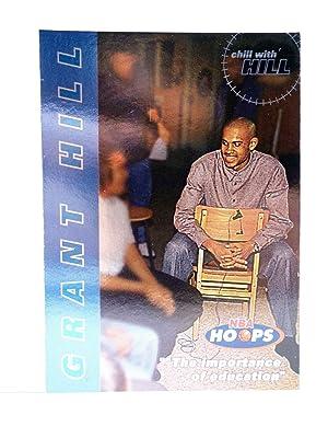 Imagen del vendedor de TRADING CARD BASKETBALL NBA HOOPS CHILL WITH GRANT HILL 8 OF 10. Skybox, 1997 a la venta por Libros Fugitivos