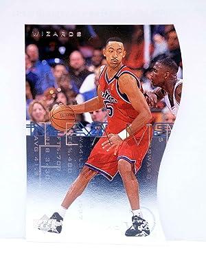 Imagen del vendedor de TRADING CARD BASKETBALL NBA TEAM MATES T57. JUWAN HOWARD. Upper Deck, 1997 a la venta por Libros Fugitivos