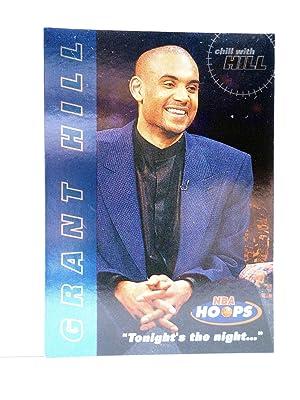 Imagen del vendedor de TRADING CARD BASKETBALL NBA HOOPS CHILL WITH GRANT HILL 1 OF 10. Skybox, 1997 a la venta por Libros Fugitivos