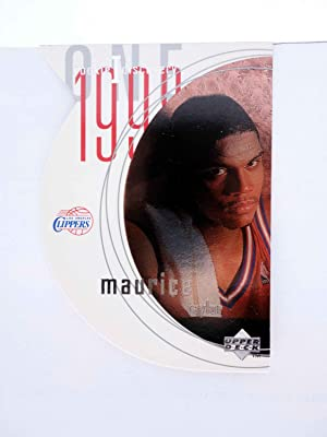 Imagen del vendedor de TRADING CARD NBA BASKETBALL ROOKIE I DISCOVERY R14. MAURICE TAYLOR. Upper Deck, 1998 a la venta por Libros Fugitivos