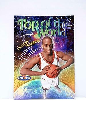 Imagen del vendedor de TRADING CARD BASKETBALL NBA HOOPS TOP OF THE WORLD TW9 OF 15. DANNY FORTSON. SkyBox, 1998 a la venta por Libros Fugitivos