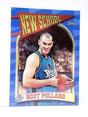 Imagen del vendedor de TRADING CARD BASKETBALL NBA NEW SCHOOL NS14. SCOTT POLLARD. Topps, 1997 a la venta por Libros Fugitivos