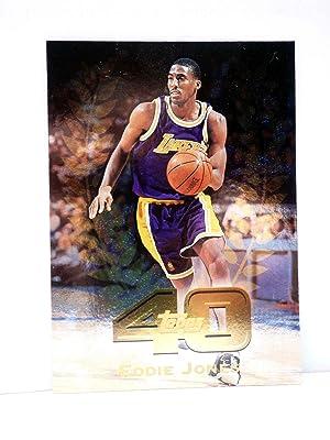 Imagen del vendedor de TRADING CARD BASKETBALL NBA TOP 40 T40-12. EDDIE JONES. Topps, 1997 a la venta por Libros Fugitivos