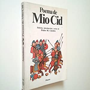 Poema de Mío Cid: Anónimo (Edición y